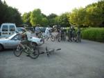 Riders at Croft Trail.