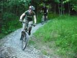 Rider having fun at the Croft Trail in Swindon.