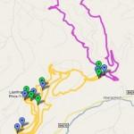 Brechfa Monster MTB route Google Maps