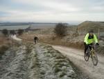 Riders on ridgeway.