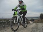 Rider on hill.