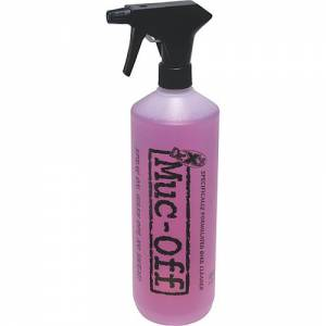 1L container of Muc Off bike cleaning fluid.