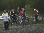 Group of women mountain bike riders.