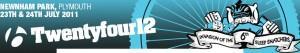 Twentyfour12 mountain bike event logo 2011.