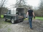 Land Rover. MOO. M00. Daisy.