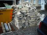 Pile of blocks.