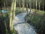 New trail at Croft Trails, Swindon.