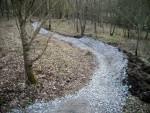 Big berm at Croft Trails.