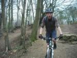 Rider near North Nibley.