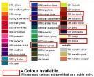 MBSwindon mug colour chart.
