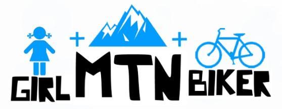 Logo for girlmtbbiker website.