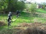 MBSwindon riders in the Wyre Forest.