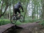 Jump at Croft Trail in Swindon.
