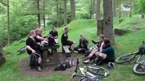 Cwm Carn picnic.