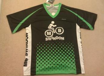 MBSwindon club shirt in green.