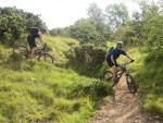 Cleeve Hill mountain biking.