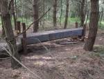Raised plank at Croft Trail in Swindon.