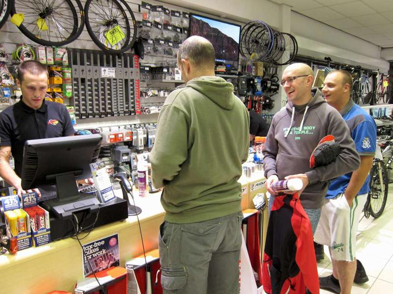 Hargroves Cycles in Swindon.