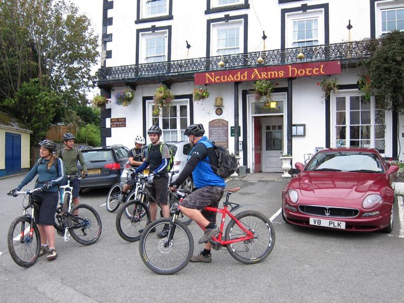 Neudd Arms in Llanwrtyd Wells.
