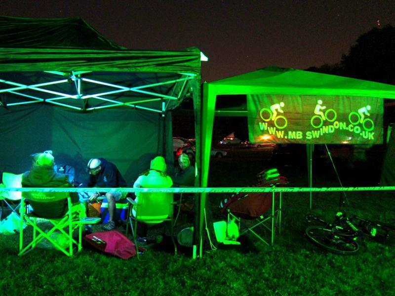 Ritchey Bikefest in the dark.