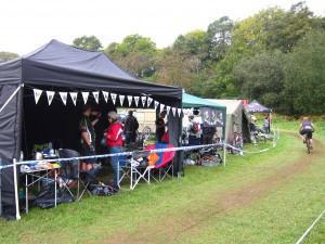 MBSwindon club stand at Britstol Oktoberfest.