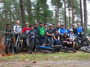MBSwindon at Swinley forest near Bracknell.