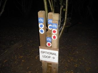 Improved sign posts at Croft Trail in Swindon, Wiltshire.