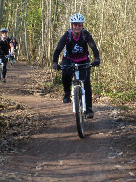 Women riders in Bristol.