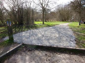 New trail start at the Croft Trail in Swindon.