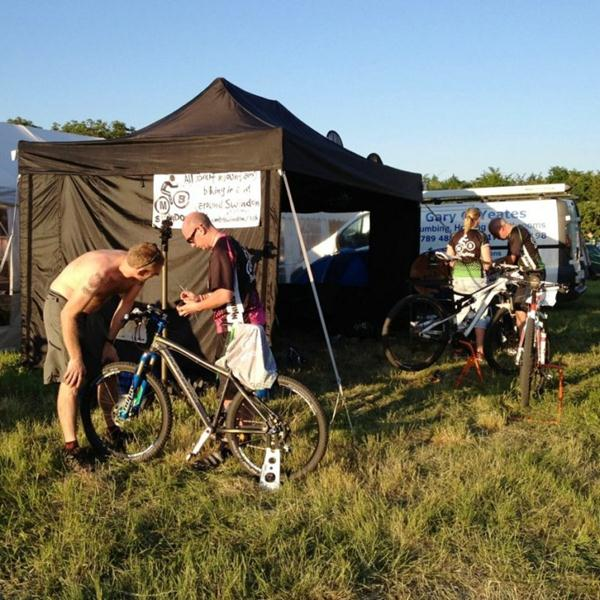 MBSwindon club stand at Erlestoke 12 event 2012.