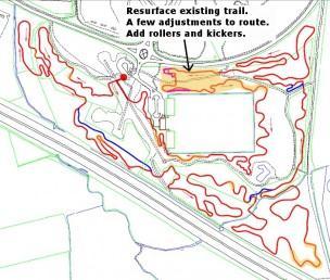 Croft Trail Wiltshire build plans 2012