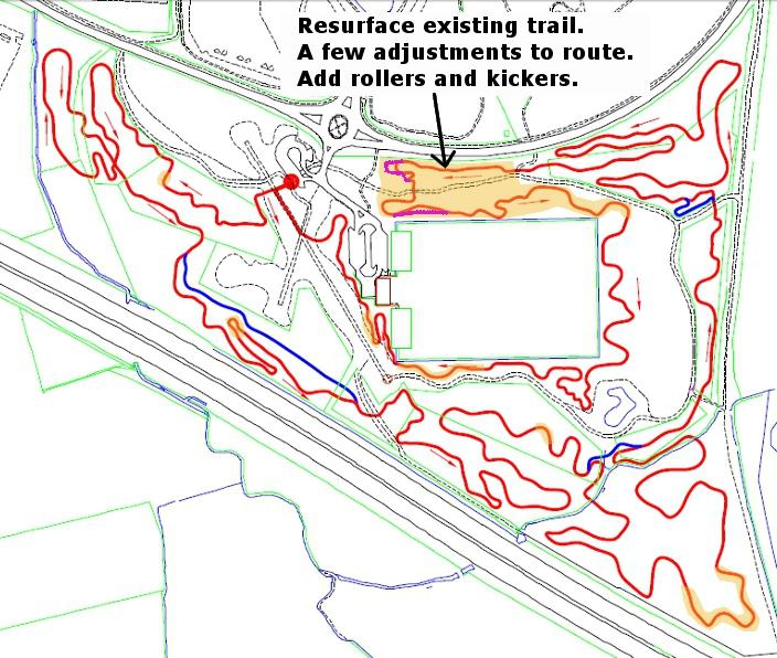 Croft Trail Wiltshire build plans 2012