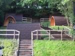 Blazing Bikes Shropshire camping pods