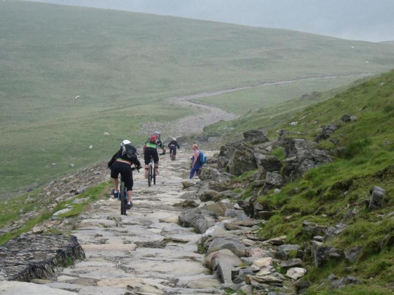 Descending Snowdon