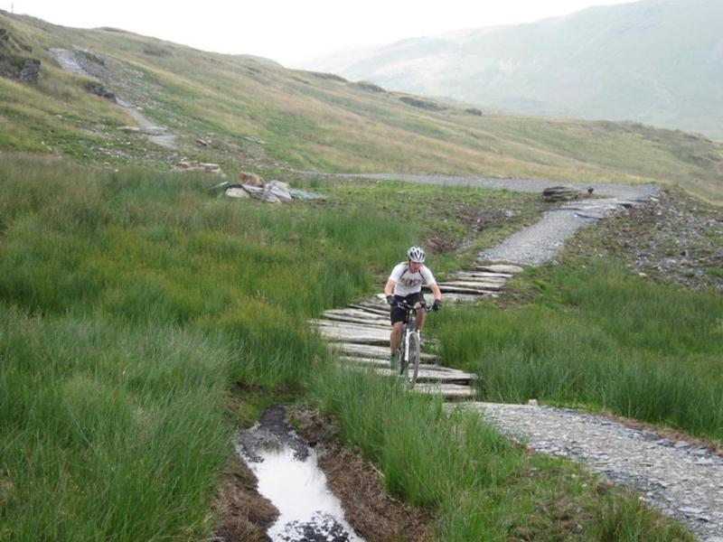 Ffestiniog mountain bike trail