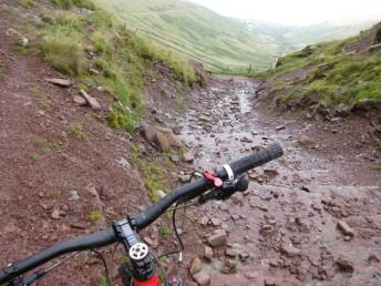 Brecon gap mountain bike