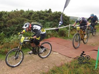 Fabian Barel at the Mondraker Gravity Enduro on Exmoor