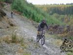 Fast descent near Brechfa.