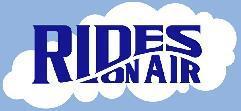 Rides On Air bike shop logo