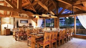 Chalet Flo Morzine dining room