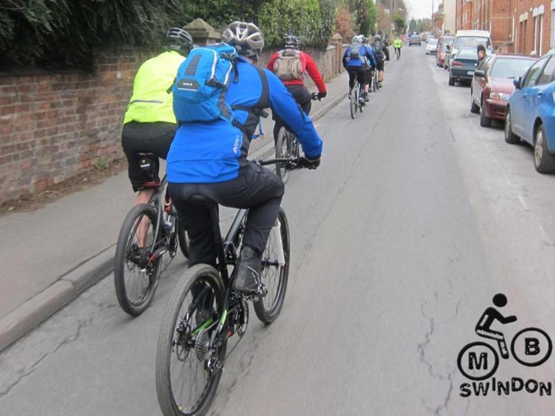 Mountain biking Stroud