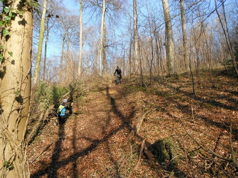 Steep slope near Cranham