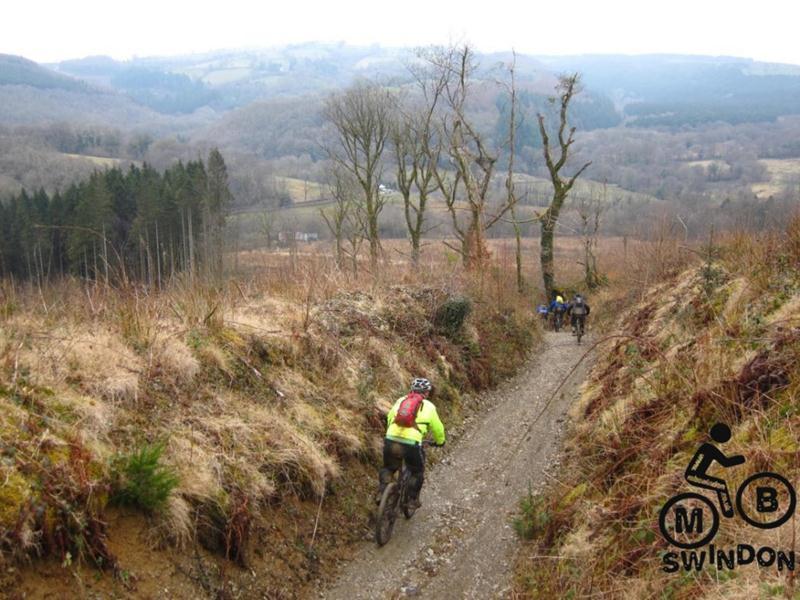 Mudtrek mountain biking in Wales.
