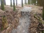 Step drop at Mudtrek Skills park