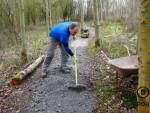 Muddy trail fixed.
