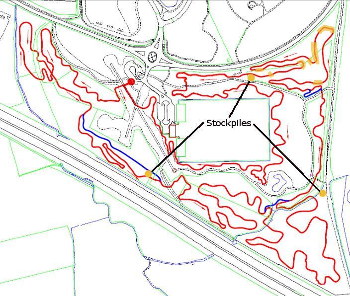 Croft Trail map March 2013