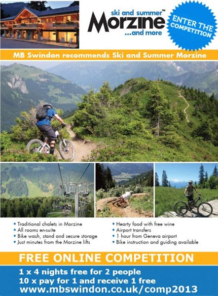 SkiMorzine Competition Flyer