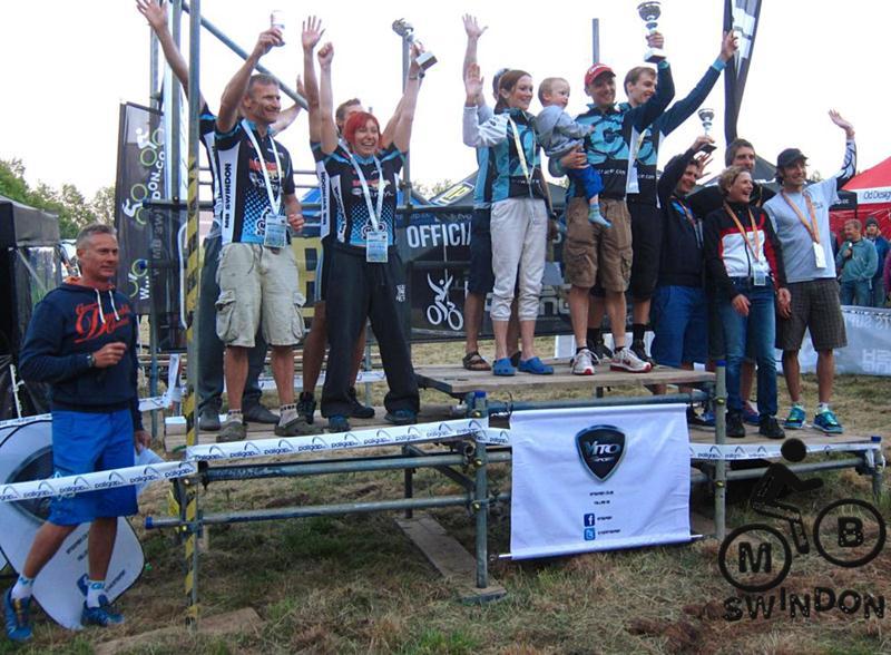 Bristol Bikefest podium.