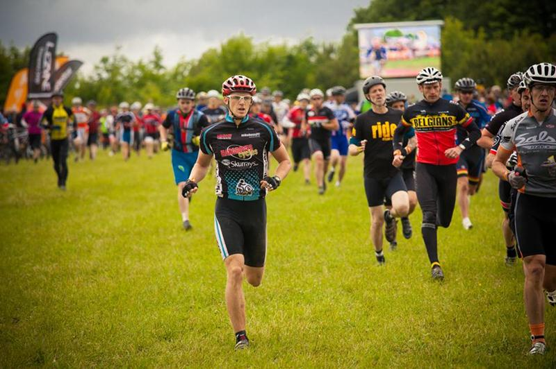 Start of Mountain Mayhem 2013