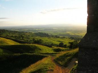 Bredon Hill sunset.